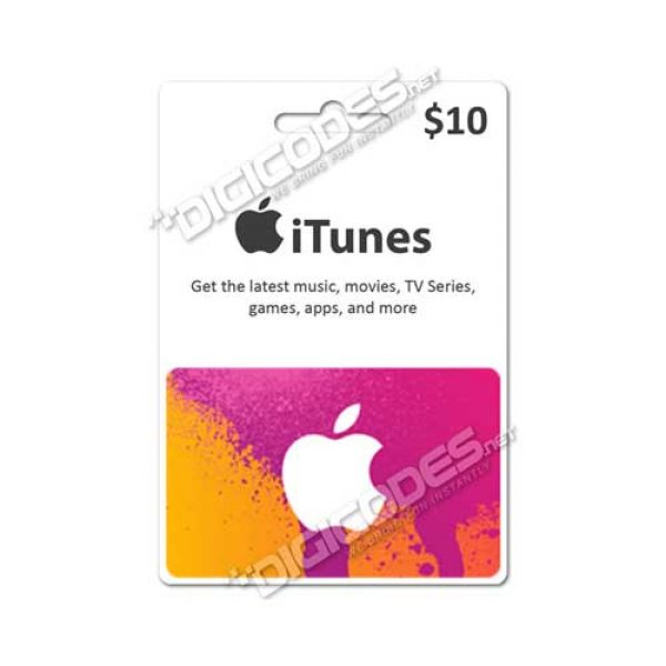 iTunes Gift Card US $10 (AutoCodes)