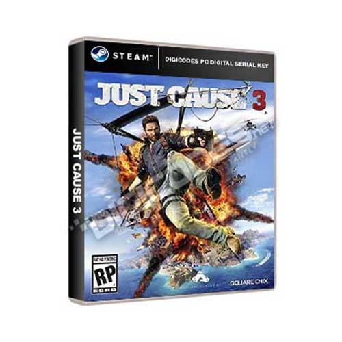 Jual Game PC Steam Just Cause 3 (PC Digital Serial Key ...