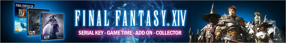 Cara menggunakan Serial Key dan Game Time Final Fantasy XIV