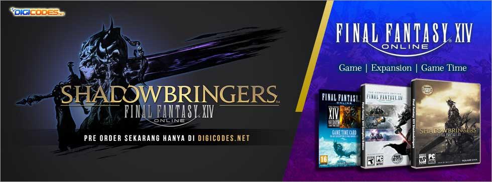 Cara menggunakan Serial Key dan Game Time Final Fantasy XIV dan