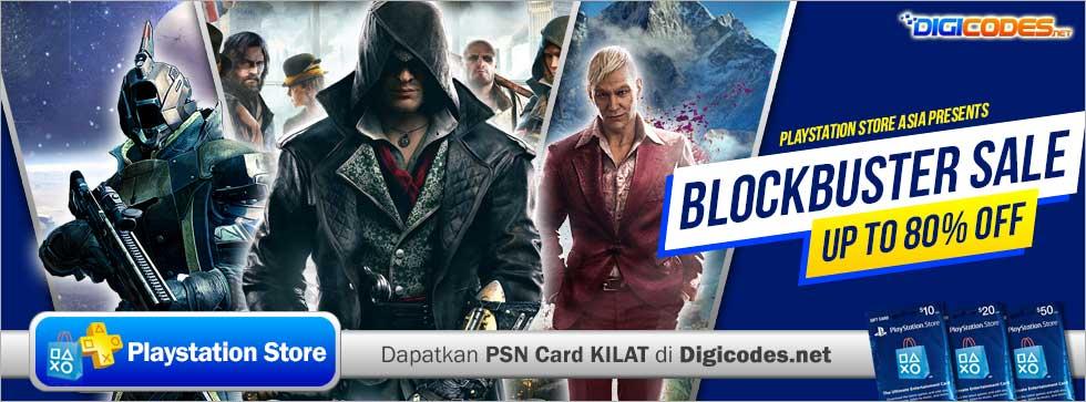 Blockbuster Sale Hadir di PlayStation Store ASIA   09