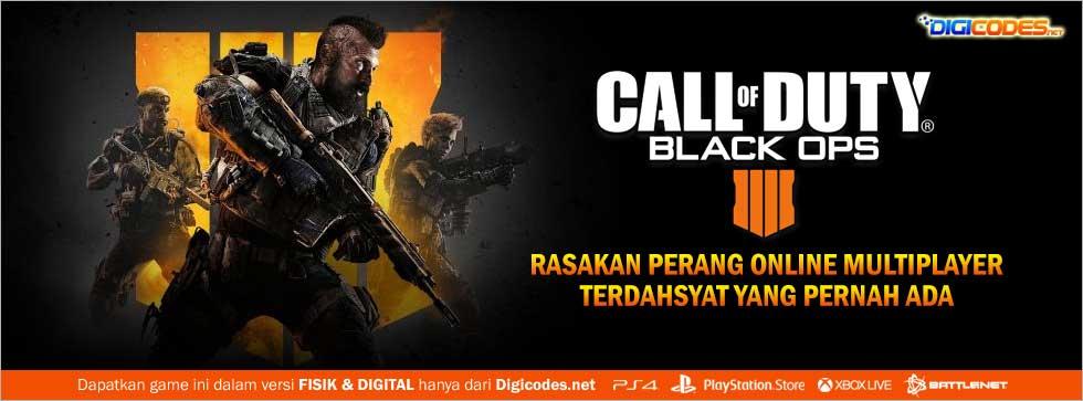 Jual Game Ps4 Pc Call Of Duty Black Ops 4 Original Murah Cepat