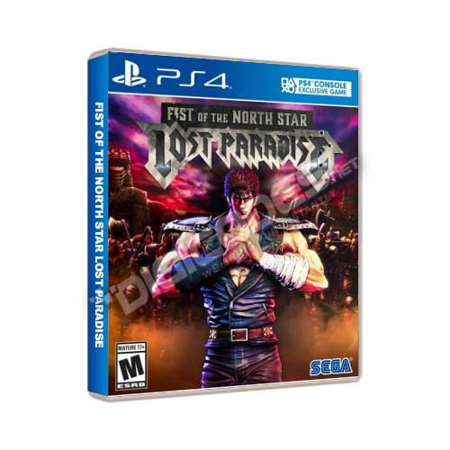 Jual Game PS4 Fist Of The North Star: Lost Paradise