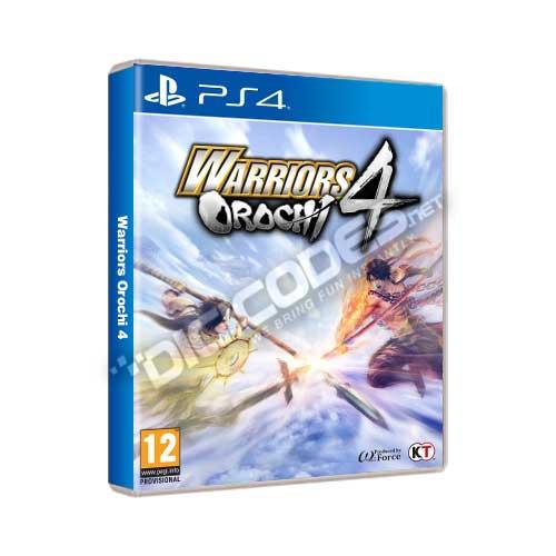Warriors Orochi 4 Cover: Jual Game PS4 Warriors Orochi 4 Original, Murah & Cepat