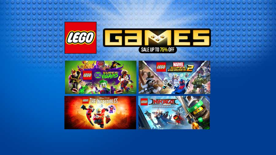 Lego Game Sale Up To 75 Off Di Steam Store 12 Desember 2018