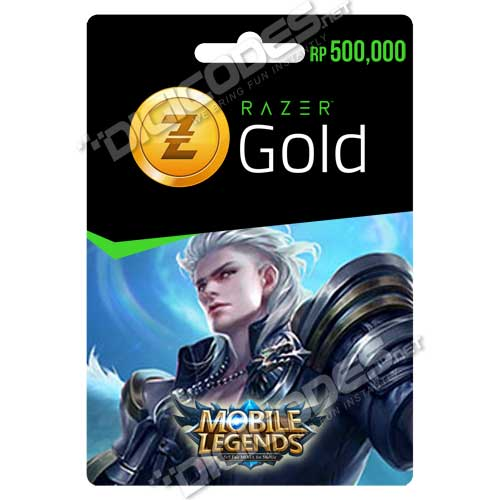 Razer Gold Rp 500,000 (Digital Codes)