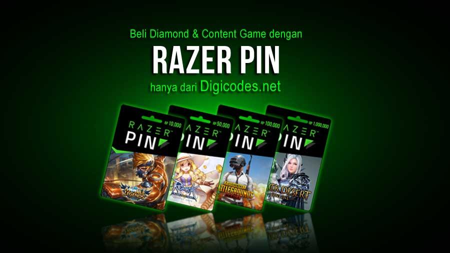 Razer PIN / Razer Gold Hadir di Digicodes net - Digicodes net