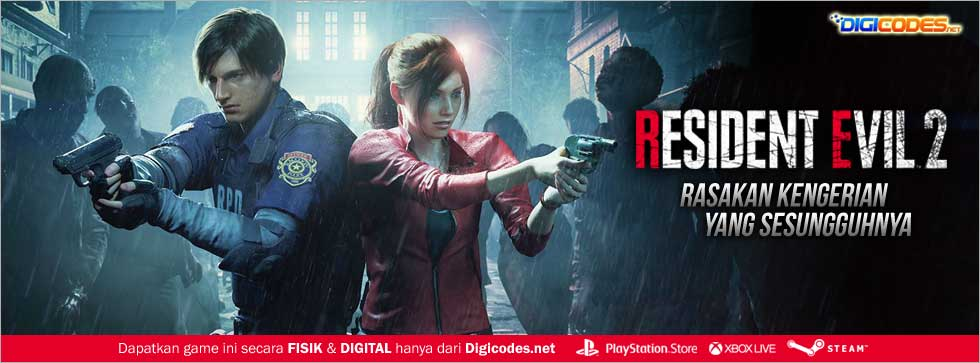 Resident Evil 2 Hadir Di Ps4 Playstation Store Xbox Store Steam Store Digicodes Net