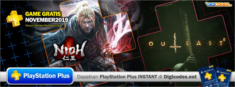 Game Gratis PlayStation Plus di bulan November 2019 - Digicodes.net